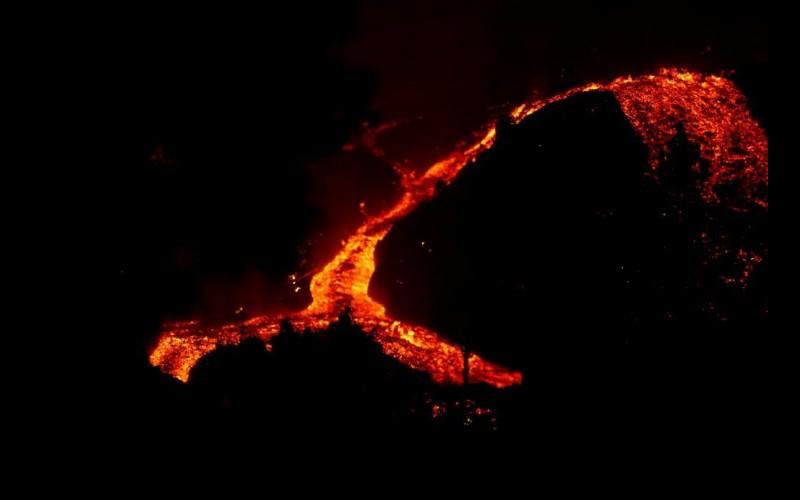 Dióxido de azufre del volcán de La Palma llegará a Italia, Túnez y Libia
