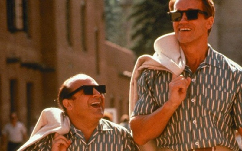 Arnold Schwarzenegger y Danny DeVito