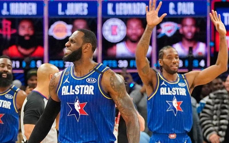Equipo LeBron se llevó el triufo en la 69 edición del All-Star