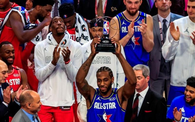 Kawhi Leonard ganó el premio «MVP Kobe Bryant»