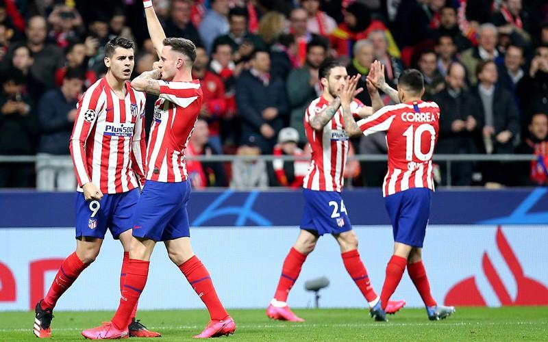 Atlético de Madrid superó por la mínima a Liverpool en el partido de ida