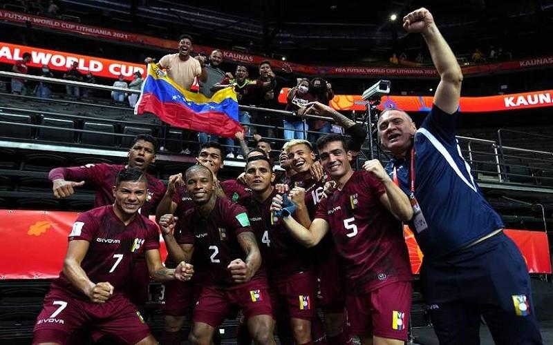 Venezuela avanzó a los octavos de final del Mundial de Futsal