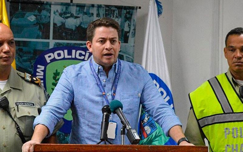 Alcalde de Chacao: En 2019 se logró la disminución de 25% en todos los delitos