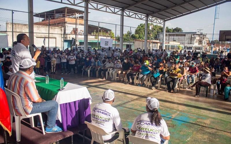 Javier Bertucci promete destinar 80% de recursos para atender demandas de los carabobeños