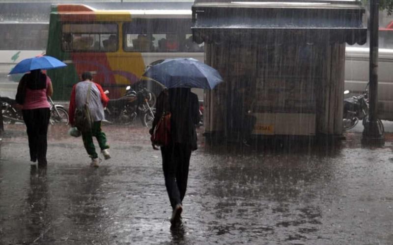 Inameh prevé este jueves lluvias de intensidad variable, lloviznas y chubascos en el país