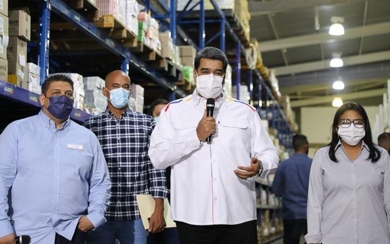 Presidente Nicolás Maduro respalda aprobación de la Ley de Emprendedores