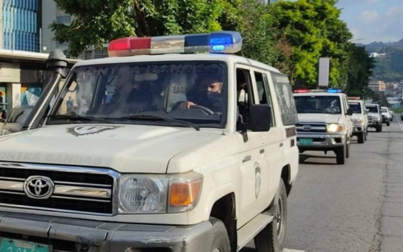 Más de 400 funcionarios policiales fueron desplegados en Chacao