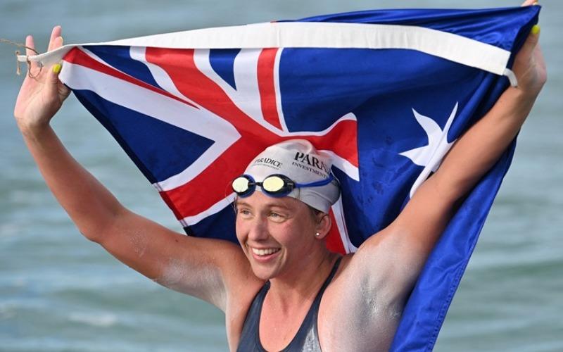 Nadadora australiana atraviesa el Canal de La Mancha y obtiene récord