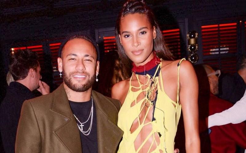 Neymar celebró en París el cumpleaños de la modelo Cindy Bruna