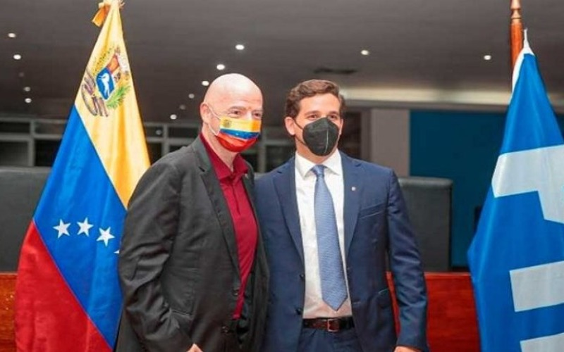 Presidente de la FIFA cumplirá agenda de trabajo en Venezuela