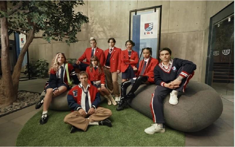 Netflix revela la primera imagen oficial de la nueva generación de Rebelde