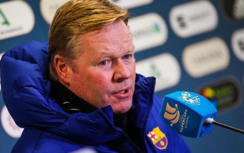 Entrenador holandés del Barcelona, Ronald Koema