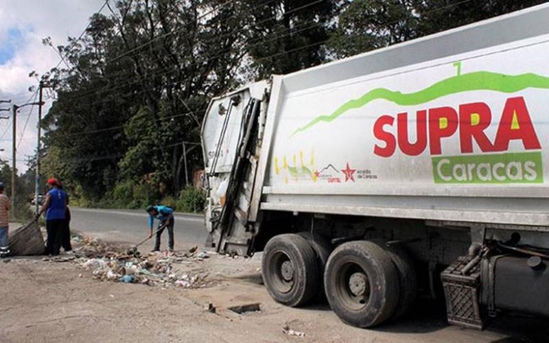 Desplegado dispositivo especial de recolección y aseo en el municipio Libertador en Caracas